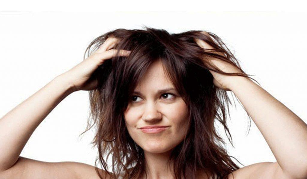 Hasil gambar untuk rambut lepek